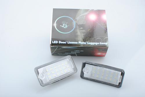 Lampka Oświetlenia Tablicy Rejestracyjnej Ld Adpa Audi 2szt
